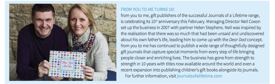 10th Birthday (Gift Focus Marc/April 2017)