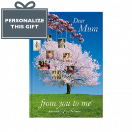 Dear Mum memory book cover from you to me