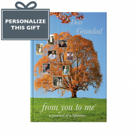 Dear Grandad tree memories book  by from you to me
