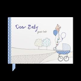Dear Baby  (blue)