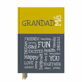 Grandad & Me interactive journal by from you to me
