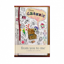guided memory journal for Grannie sketch cover by from you to me