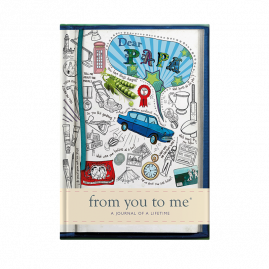 Dear Papa for grandfather tell me memory journal by from you to me