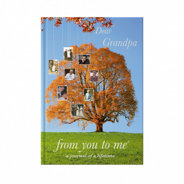 Dear Grandpa tree memories book  by from you to me