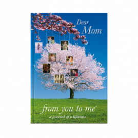 guided memory journal for Mom tree cover by from you to me