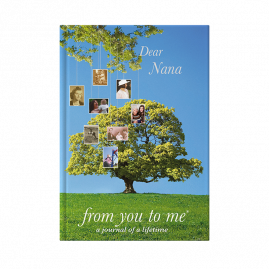 Memory Book for Nana Tree by from you to me
