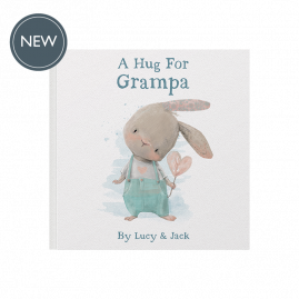 Personalised A Hug For Book If you can't give someone a hug then you can send them 'hugs' in the post with this lovely soft backed picture book by from you to me
