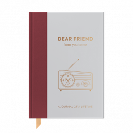 NEW Timeless Collection Dear Friend hardback memory journal