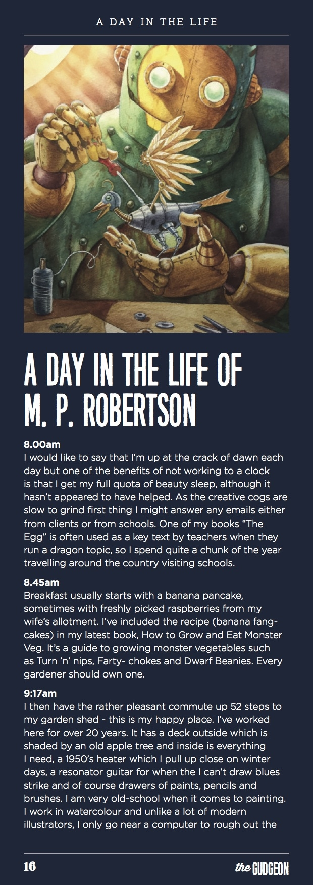 The Gudgeon M.P. Robertson
