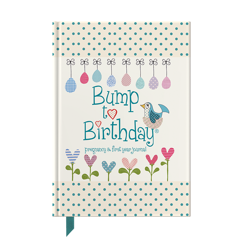 Bump to Birthday pregnancy journal