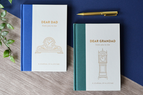 Timeless journals Dad and Grandad